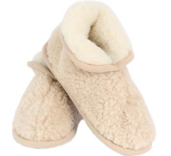 Hausschuhe - Slipper aus Wolle