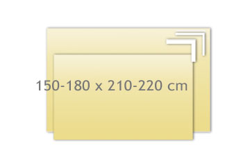 Tagesdecken 150-180x210-220cm