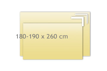 Tagesdecken 180-190x260