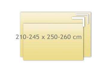 Tagesdecken 210-245x250-260