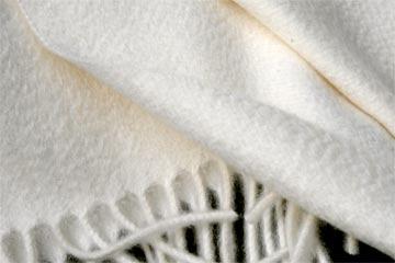 Wollplaids mit Wasserglanz