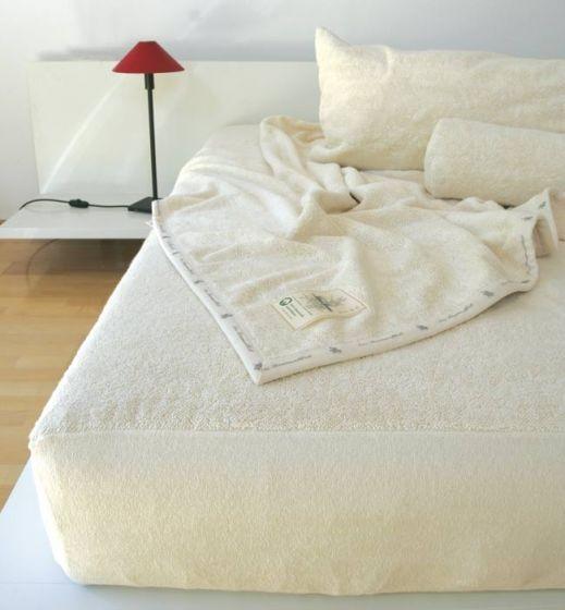 ÖKO Baumwollunterbett, Matratzentopper mit Spannumrandung aus KBA Baumwolle in den gängigen Größen