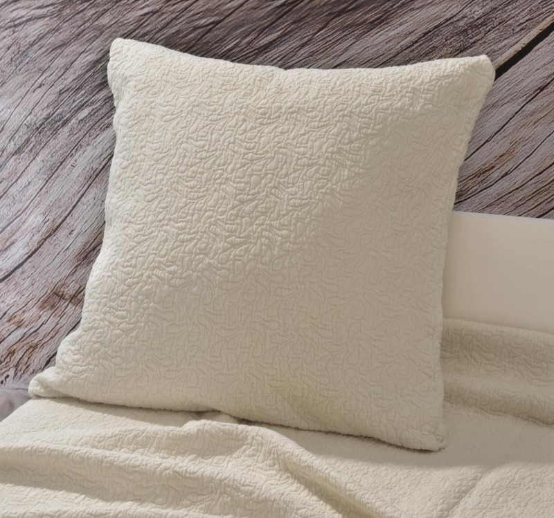 Kissen Estoril - Paisleymuster - beige 45x45cm