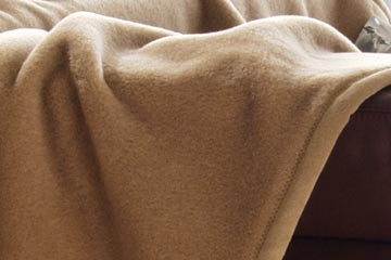 Wolldecke kamelhaar waschen