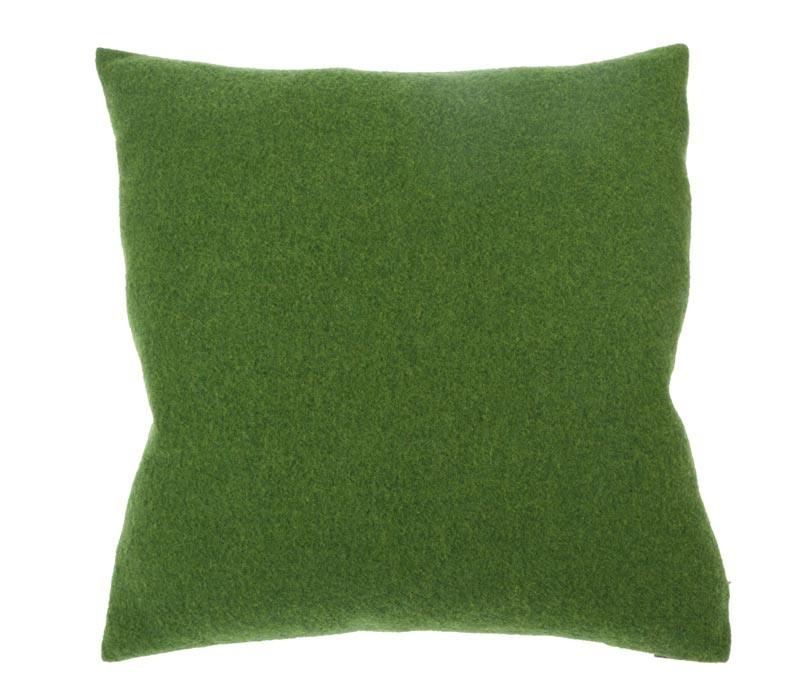 Steiner Kissen Sophia 55x55cm aus 100% Merino Wald - grün