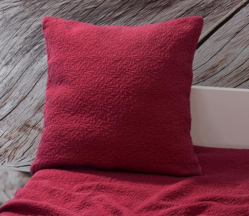 Kissen Estoril - Paisleymuster - rot 45x45cm