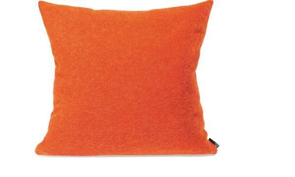 Kissen von Steiner Alina mit Füllung Mandarine/orange