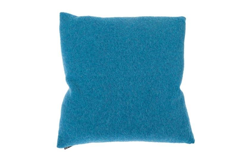 Kissen von Steiner Alina mit Füllung Ozean/blau
