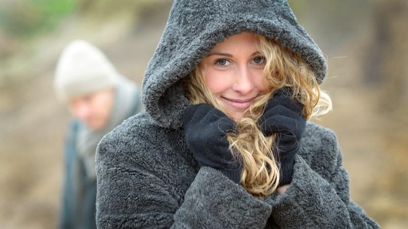 Wollhandschuhe Possum-Merino und Seide, Handschuhe aus Wolle in schwarz Größe S