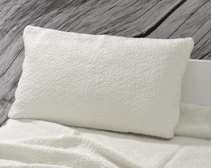 Kissen Estoril - Paisleymuster - weiß 30x50cm